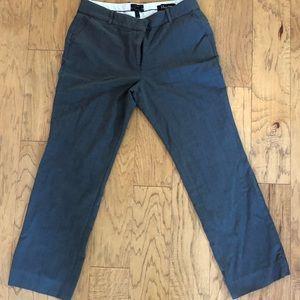 J crew gray dress trousers; size 14